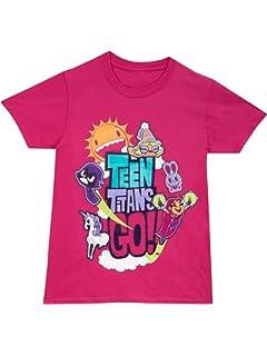 Teen Titans Go! - Camiseta para niñas - 12 - 13 Años: Amazon.es: Ropa y accesorios