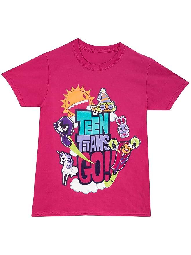 9 opinioni per Teen Titans Go- Maglietta a maniche corte- Teen Titans- Ragazze