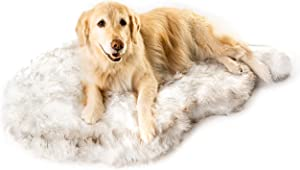 Treat A Dog Puprug Faux Fur Memory Foam Orthopedic Dog Bed, Premium Memory Foam Base, Ultra-Soft Faux Fur Cover, Modern and Attractive Design (Multiple Sizes & Styles)