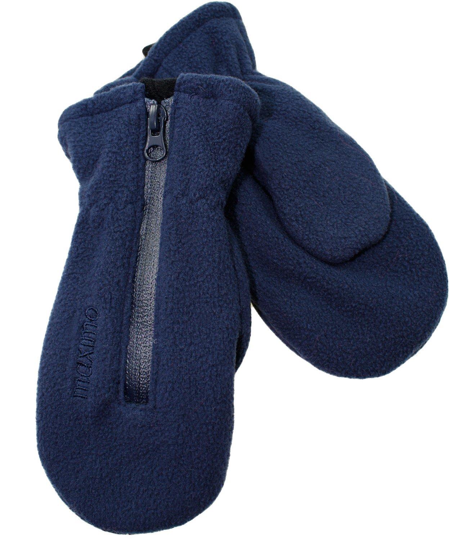 Maximo Guanti Da Ragazza In Fleece Pile Muffole Guanto Invernali Con Lungo Cerniera (MX-59303-740700-W16-MA1) incl. EveryKid-Fashionguide