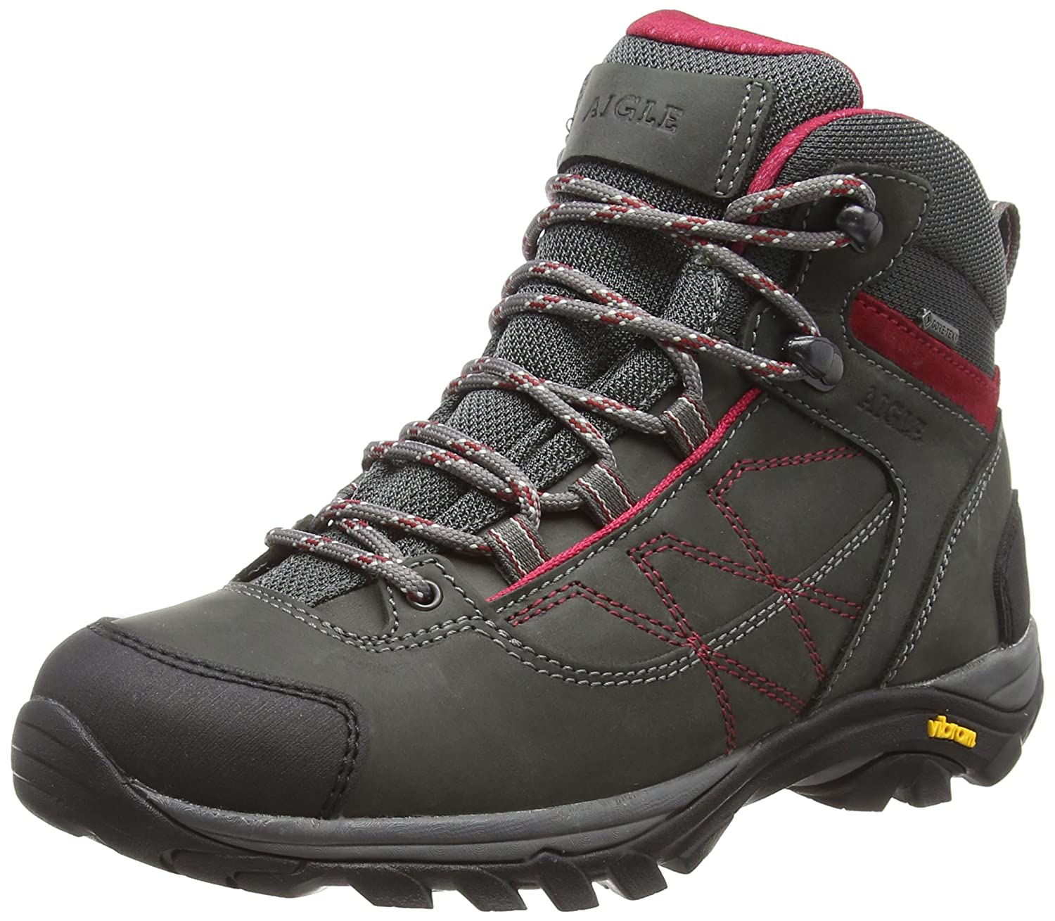 047e12168d0 Aigle Women's Mooven Leather W Gore-tex High Rise Hiking Shoes ...
