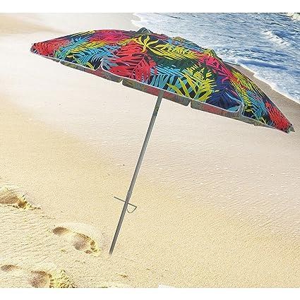 Amazon.com: destinationgear 7 ft palmas playa paraguas con ...
