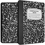 iPad air 2 Case - Leafbook Ultra Slim Lightweight PU leather Smart Shell Standing Cover for Apple iPad air 2 (iPad 6), Composition Book