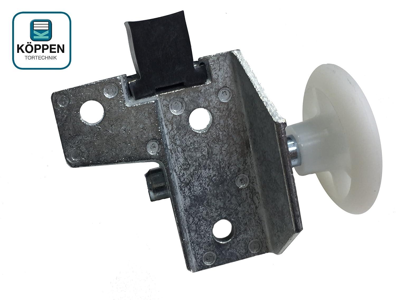 F80 H/örmann Rollenhalter//Laufrolle f/ür Schwingtore links