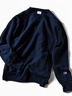 Reverse Weave Crewneck Sweat Shirt 112-55-0015: Navy