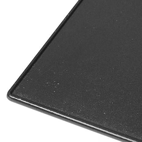 JUSTUS Barbacoa/Grill/Placa Fundido, Negro, 62 x 38 x 2 cm ...