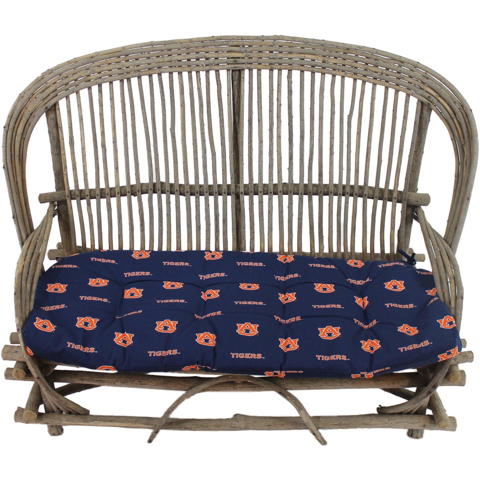 College Covers Auburn Tigers Settee Cushion