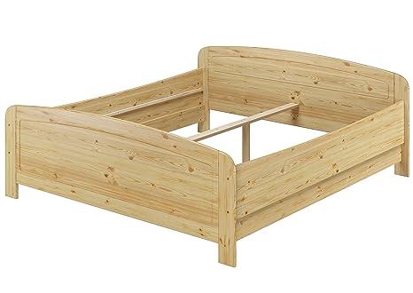Erst Holz Seniorenbett Extra Hoch 180x200 Doppelbett Holzbett