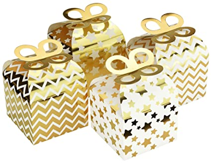 fiveseasonstuff bright paper candy boxes with handles wedding party favour boxes cupcake muffin cake
