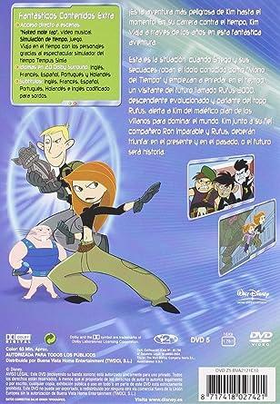 Kim Possible: A través del tiempo [DVD]: Amazon.es: Varios ...