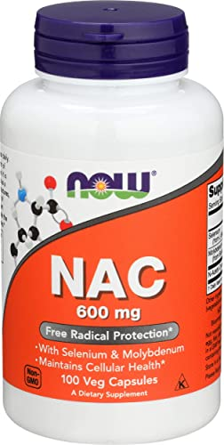 Now Foods, Nac 600mg, 100 Capsules