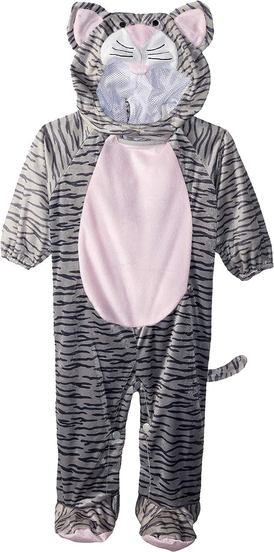 Grey Striped Kitten Kitty Cat Animal Cute Child Toddler Infant Halloween Costume
