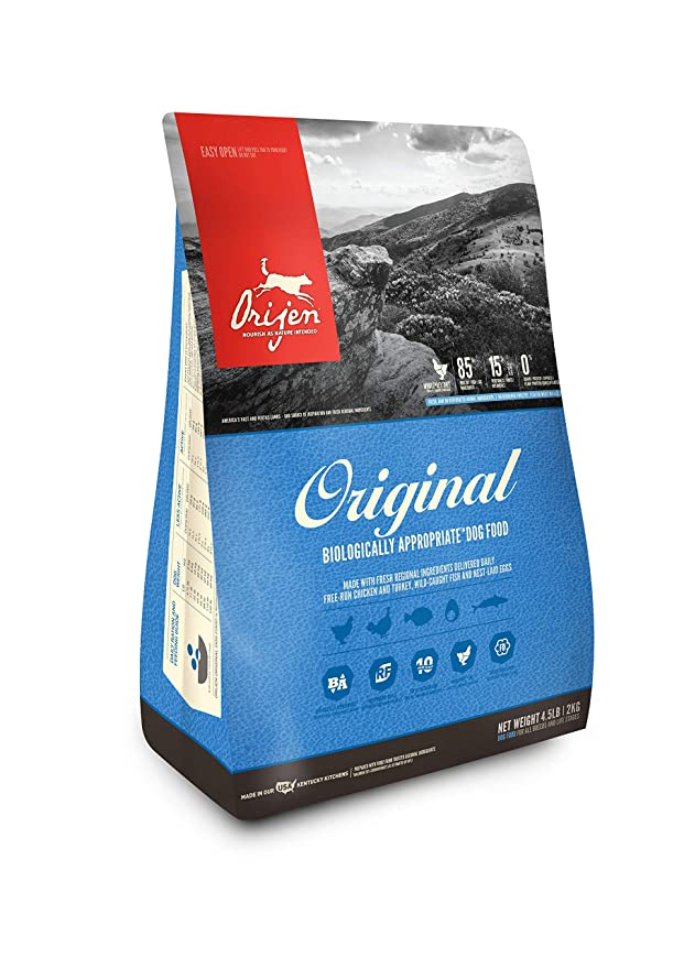 Orijen Original Dry Dog Food, 4.5 lb
