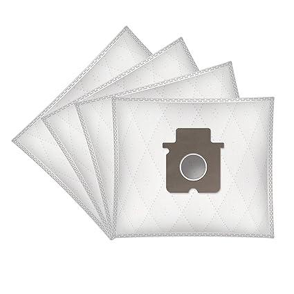 ✧WESSPER® Bolsas de aspiradora para Panasonic MC-E 785 (4 ...