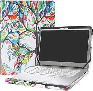 "Alapmk Protective Case Cover for 14"" HP Chromebook 14 14-akXXX 14-XXXX 14-qXXX & HP Chromebook 14 G1 G2 G3 G4 Series Laptop(Warning:Not fit HP Chromebook 14 G5/14-caXXX Series),Love Tree"