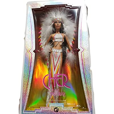 Barbie 70s Cher Bob Mackie Collector Black Label: Toys & Games