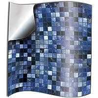 24 Azul PEGATINAS lisas para pegar sobre azulejos