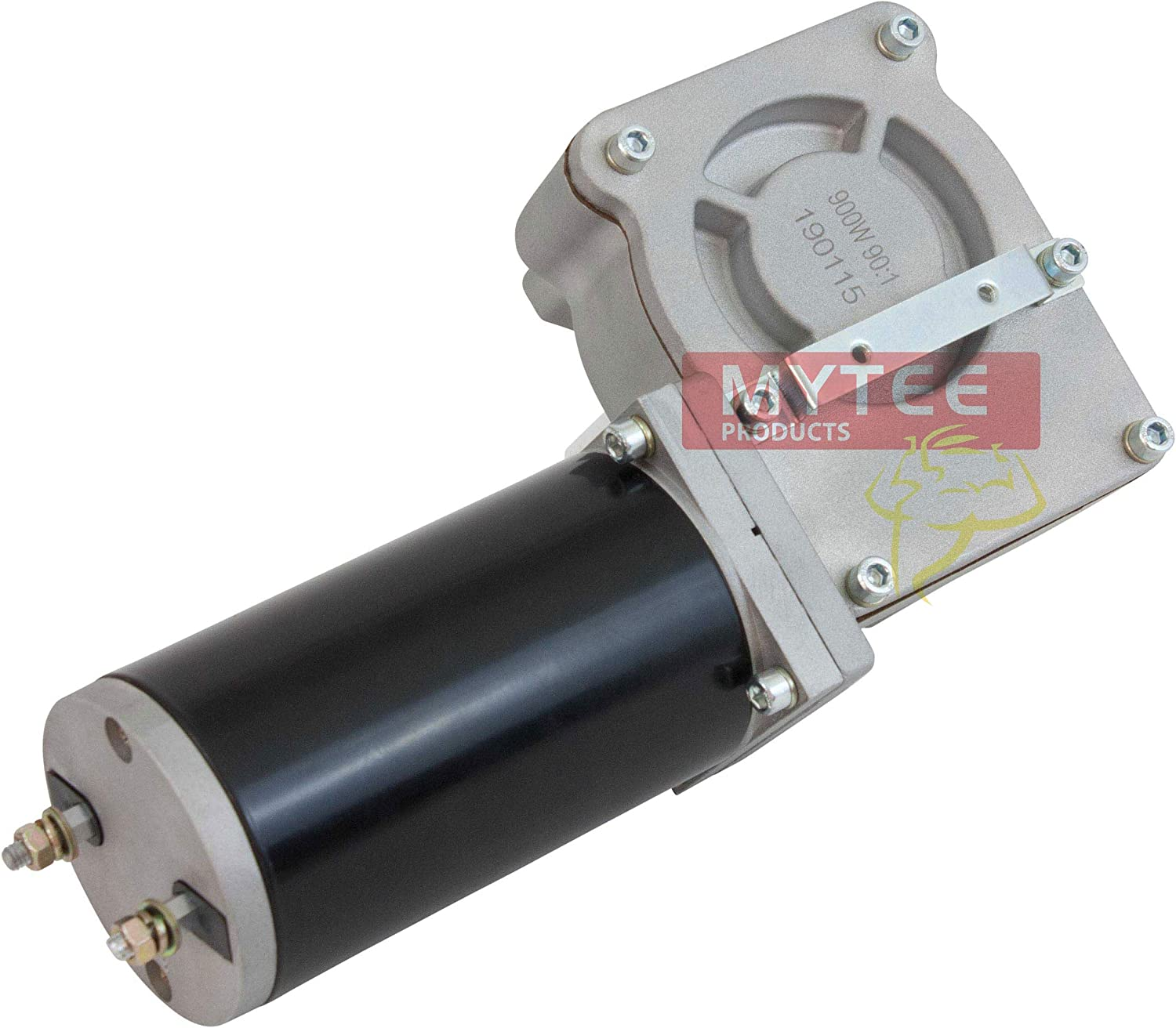 Mytee Products 900W 90:1 Tarp Motor for Dump Truck Tarp Systems with Chrome Cover 12VDC 41 AMPS 1 Year Warranty 38 RPM