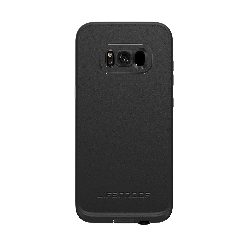 Lifeproof FRĒ Series Waterproof Case for Samsung Galaxy S8+ (ONLY) - Retail Packaging - Asphalt (Black/Dark Grey)