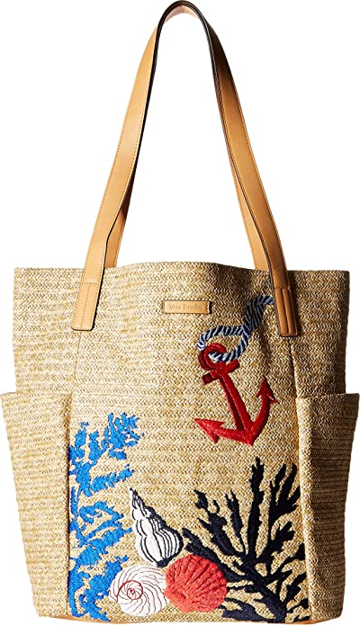 Amazon.com: Vera Bradley - Bolso de playa para mujer, talla ...