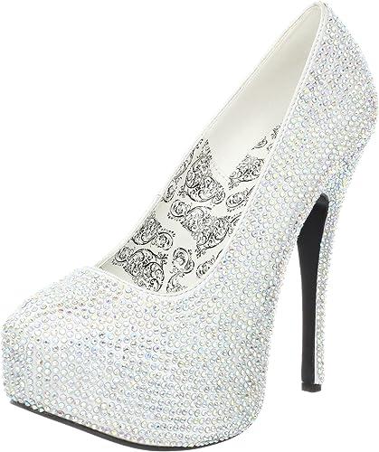 Pleaser TEEZE-12-6 Womens Teeze-12-6 Ankle-Strap Sandal Choose SZ//Color.