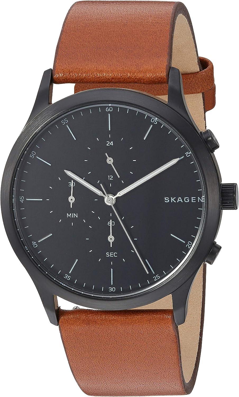 Skagen Jorn Reloj Minimalista de Cuarzo de Acero Inoxidable para Hombre
