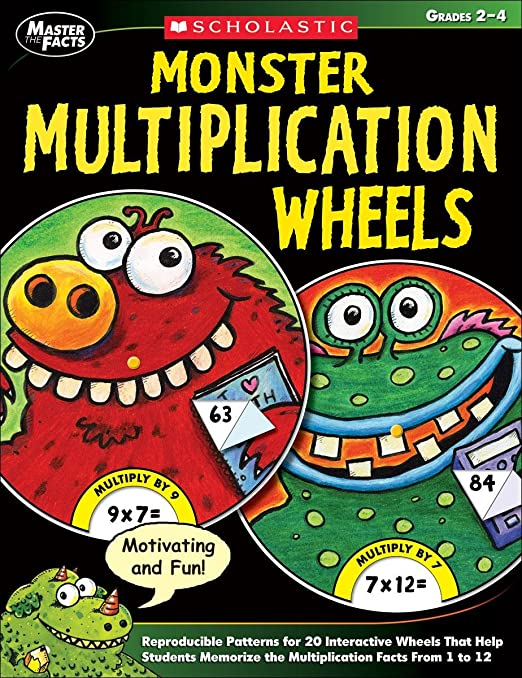Amazon.com: Monster Multiplication Wheels: Reproducible Patterns ...