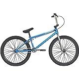 "DK Bikes DK Cygnus 24"" Complete BMX Bike Trans Blue"
