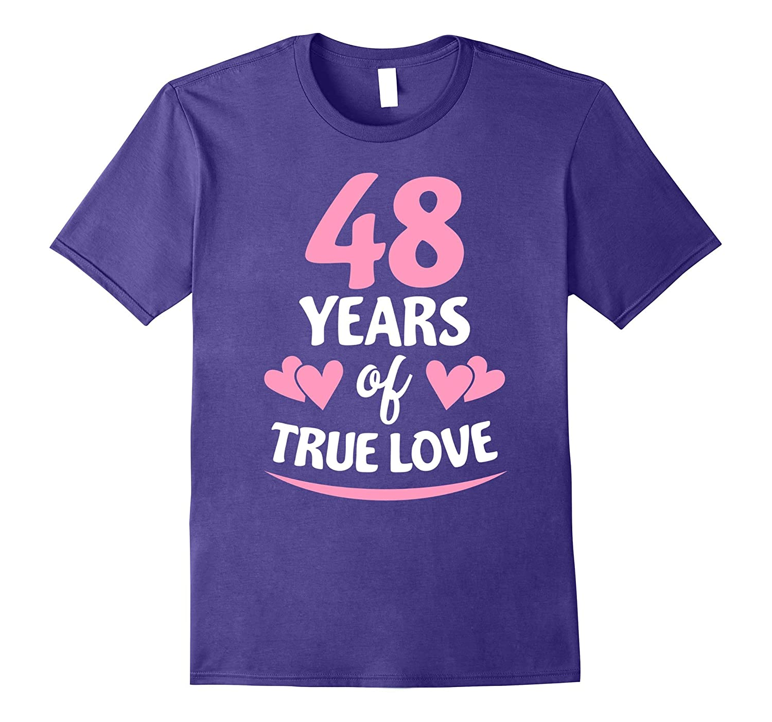 48th Anniversary Gift for Mom and Dad T-Shirt-PL