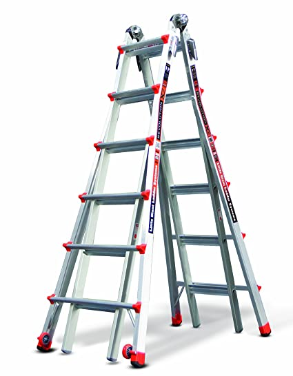Little Giant Ladder Systems 12026 26-Feet 300-Pound Duty Rating ...
