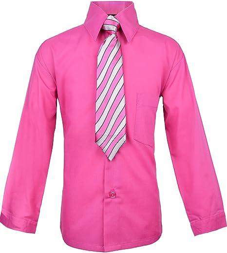 e7f49cfe0fb Amazon.com  Black n Bianco Boys Long Sleeve Button Down Dress Shirt ...