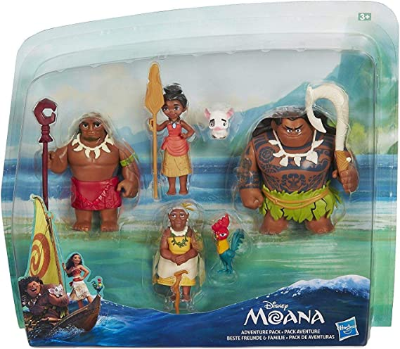 Hasbro Disney Vaiana C0149EU5 - Mini muñecas, 6 personajes: Amazon.es: Juguetes y juegos