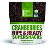 Made in Nature Organic Super Snacks, Cranberries, 5 Ounce (Pack of 12)