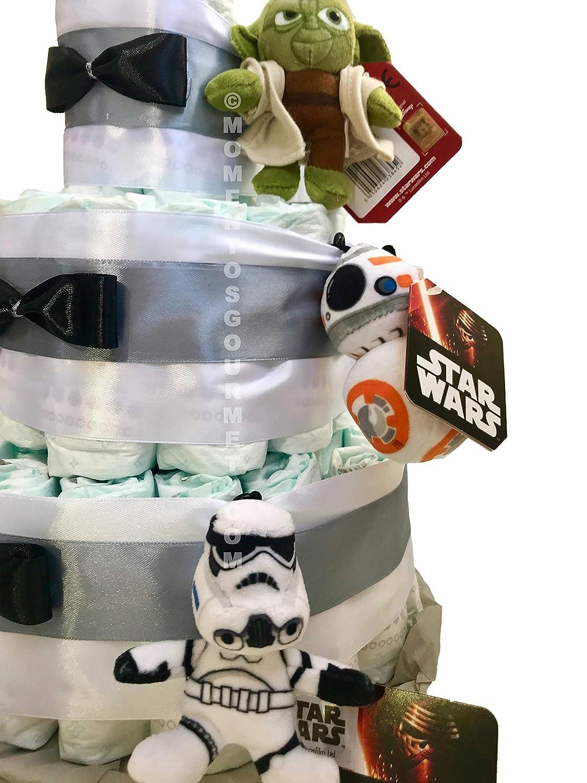 Tarta de pa/ñales DODOT Star Wars Talla 2 3-6 kg