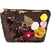 Kabello Sequin Hand Bag for Women Glitter Hand Clutch For Girls 20 Grams Pack Of 1