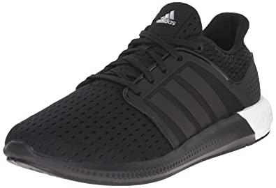 7f85f85874cb6 adidas Performance Men s Solar Boost M Running Shoe Black   Black   Silver  - 4 D