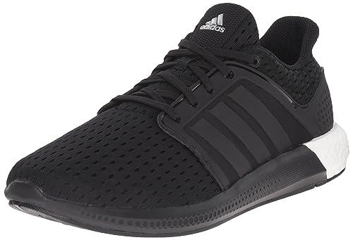 superior quality 74c7d 9d8d7 adidas Performance Men s Solar Boost M Running Shoe Black   Black   Silver  - 4 D