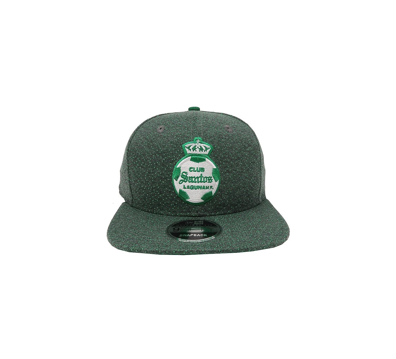 New Era 59Fifty Hat Santos Laguna Soccer Club Liga MX Official Mens Black Cap