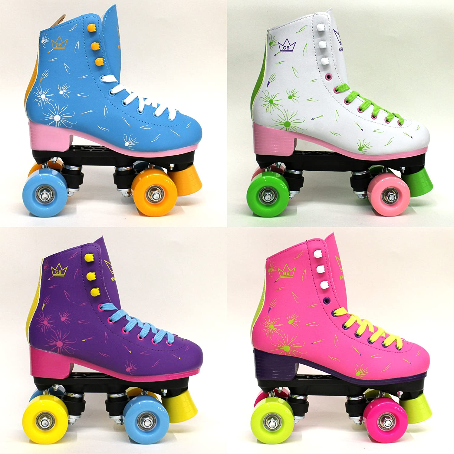 TALLA 37 EU. Venus Patines de Ruedas Kingdom GB Quad Wheels