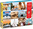 """Galison Find Momo Search and Find Puzzle, 1,000 Pieces, 27"""" x 20'' – Piece Together and Find Momo the Dog in 12 Images - Thick, Sturdy Pieces – Challenging, Perfect for Family Fun"""