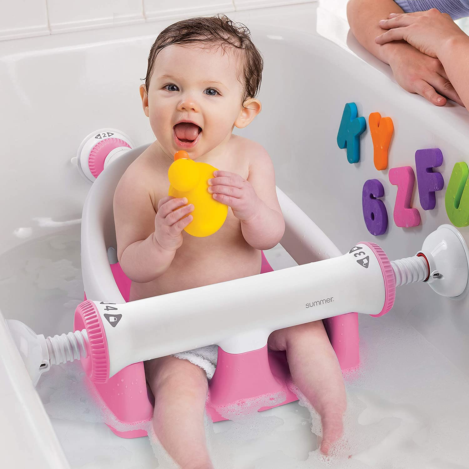 Summer Infant My Bath Seat Pink