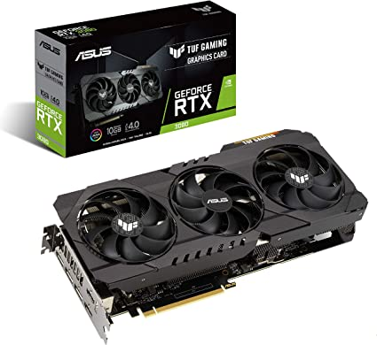 ASUS TUF GeForce RTX 3080 Graphics Card