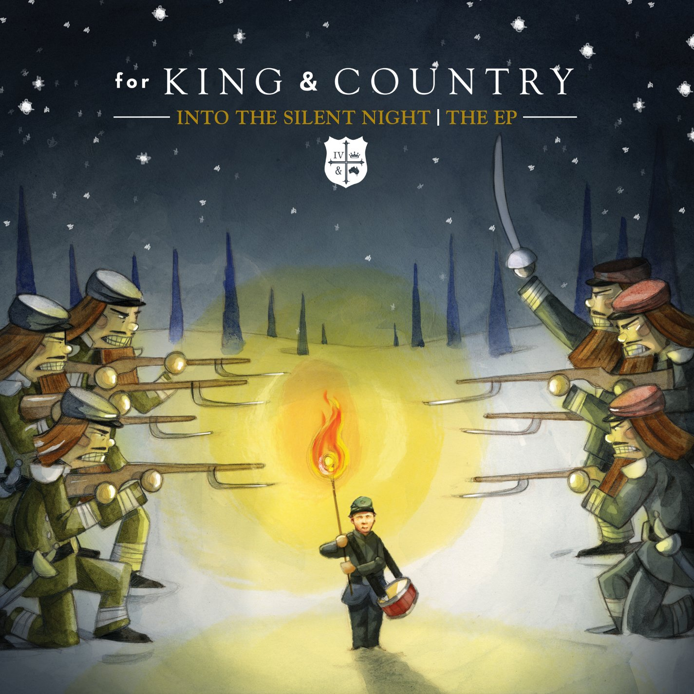 for king country into the silent night ep amazoncom music - For King And Country Christmas Album