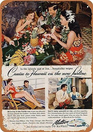 Amazon.com: DYTrade Vintage Look Metal Sign 8 x 12-1949 ...