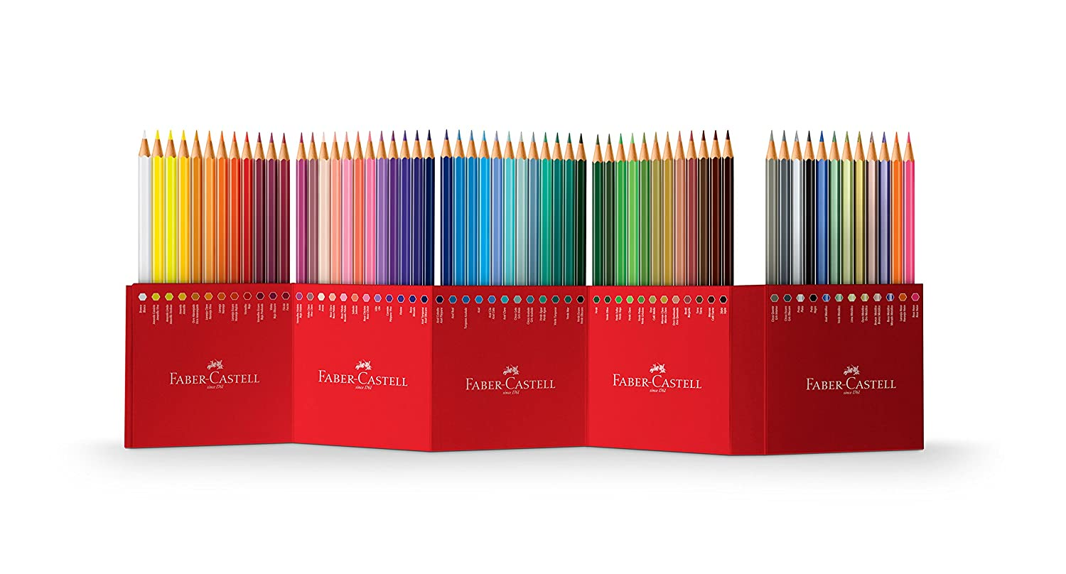 Faber-Castell Colour Pencils (Pack of 60): Amazon.co.uk: Office ...