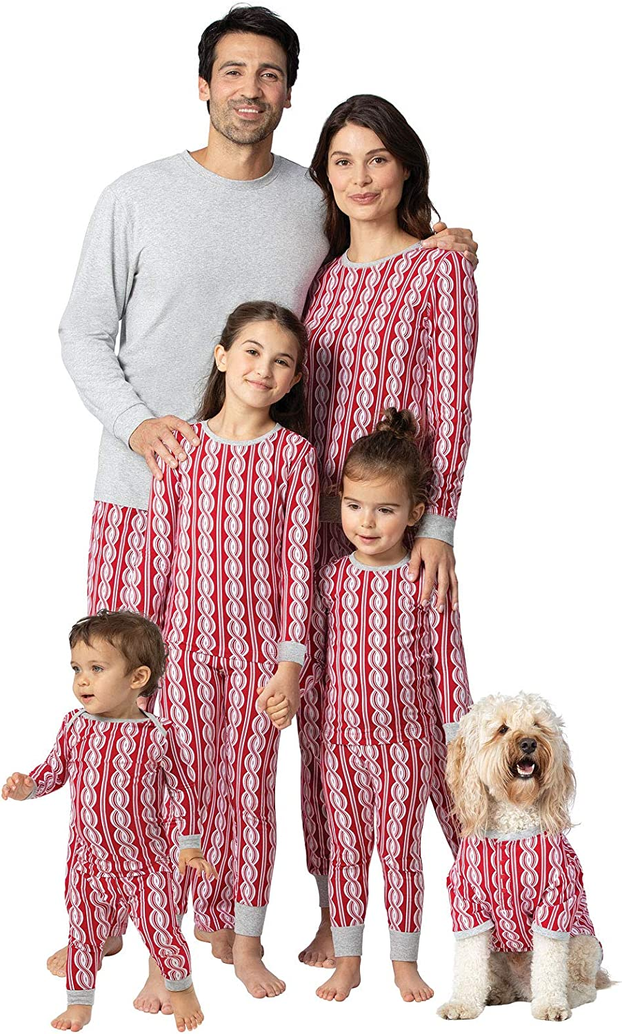 Amazon Com Pajamagram Matching Family Christmas Pajamas Matching Christmas Pjs For Family Red Clothing