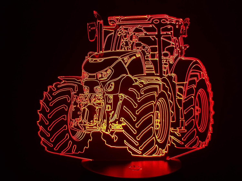 TRACTEUR CASE OPTUM, lampe 3D à LED