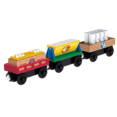 Fisher-Price Thomas & Friends Wooden Railway, Sodor Bakery Delivery: Toys & Games