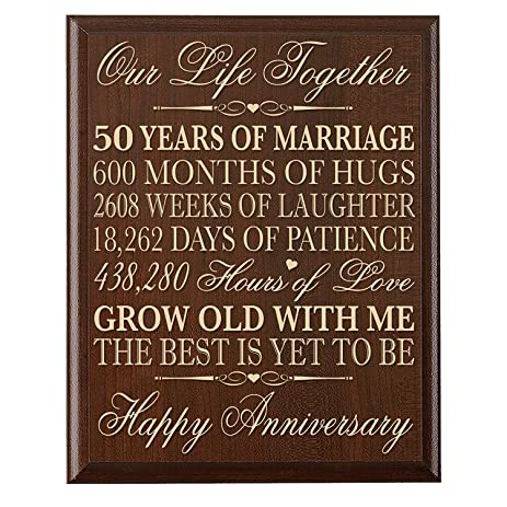 Best gifts 50th wedding anniversary