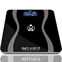 INEVIFIT Body-Analyzer Scale, Highly Accurate Digital Bathroom Body Composition...